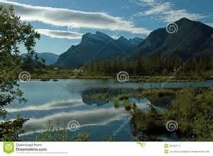 Vermilion Lakes Alberta Canada