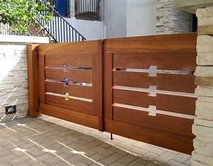 Portail En Bois : prix portail bois budget ~ Premium-room.com Idées de Décoration