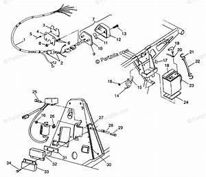 Polaris Atv 1993 Oem Parts Diagram For Electrical