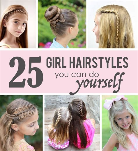 25 Little Girl Hairstyles you can do YOURSELF Hair