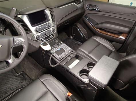 havis tahoe police vehicle specific  console mega tech