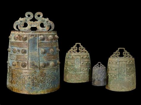 A Rare Collection Of Bronze Age Chinese Bells Tells A
