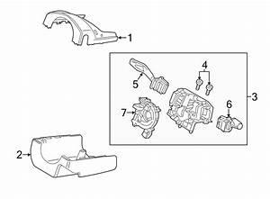 2011 Ford Taurus Column Housing Screw  Lower Shroud Screw