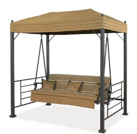 Patio Canopy Swing Home Depot by Garden Winds Replacement Canopy For Sonoma Swing Riplock