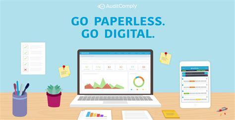 Buried In Paper? Go Paperless. Go Digital.