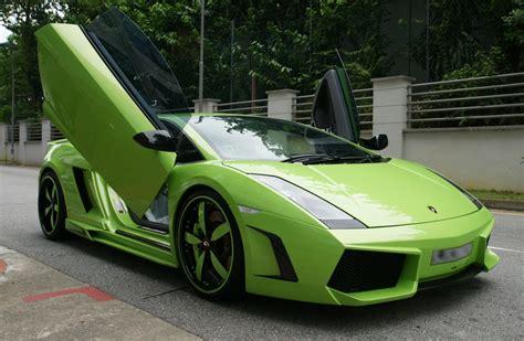 Black And Green Lamborghini 10 Cool Hd Wallpaper