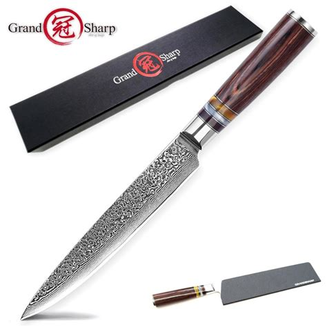 Kitchen Knives To Buy by Aliexpress Buy Damascus Kitchen Knives Slicing