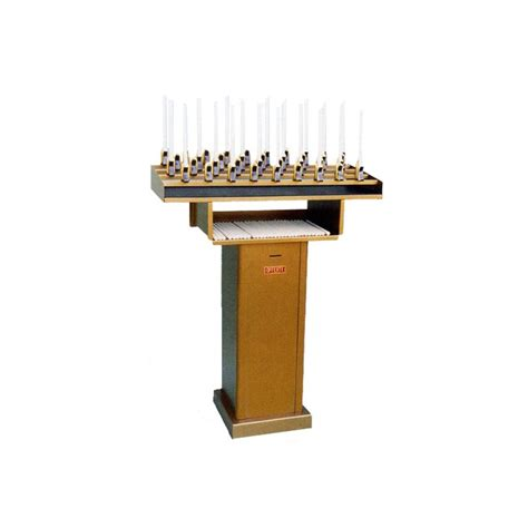 candelieri votivi candeliere votivo con cassaforte per candele di cera