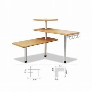 Petit Meuble D Angle : etag re d 39 angle en bambou avec crochets petit meuble de rangement ac deco ~ Preciouscoupons.com Idées de Décoration