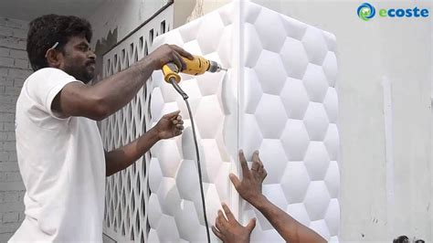 ecoste clad   wall panels installation youtube