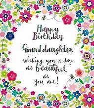 Best Happy Birthday Granddaughter