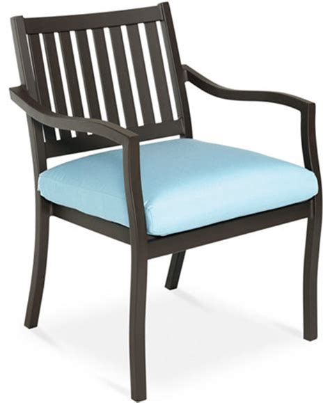holden aluminum outdoor dining chair furniture macy s