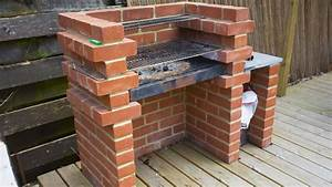 Diy Guide To Building A Brick Bbq In A Patio Area