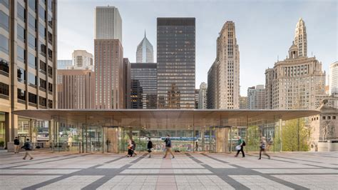 reconnecting chicago to its river apple store michigan