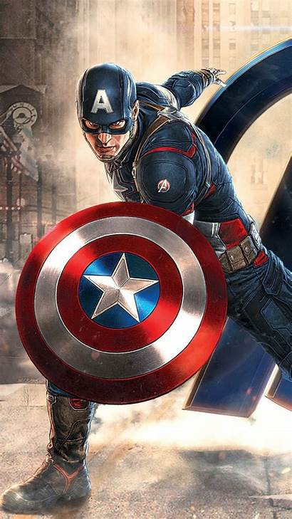 Captain America Wallpapers Iphone Wallpaperplay Res