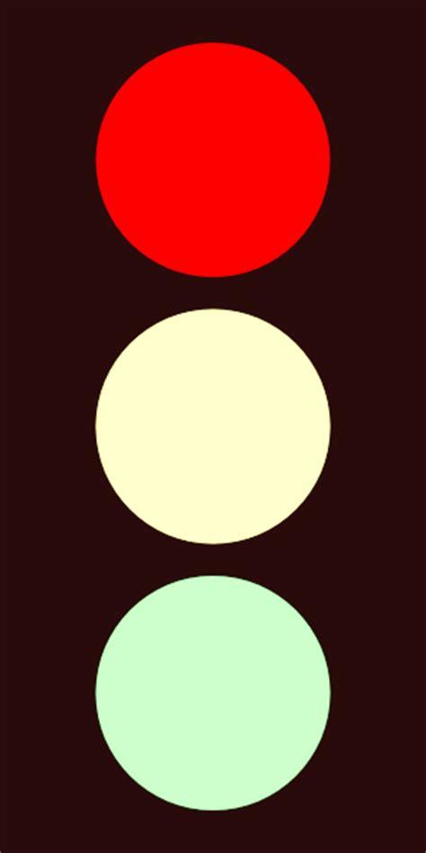 Traffic Light Red Clip Art At Clkercom  Vector Clip Art