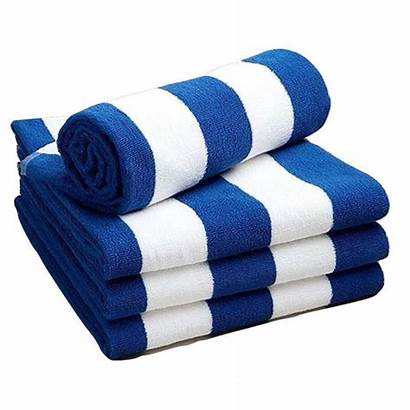 Towels Beach Cotton Towel Pool Stripe Beyond
