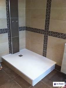 Receveur Salle De Bain : plombier rennes bruz le grand thomas salle de bains receveur gr le grand plombier ~ Melissatoandfro.com Idées de Décoration