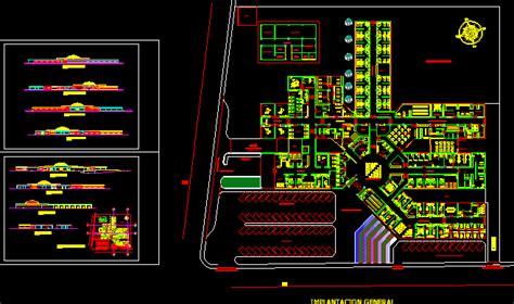 hospital project  dwg full project  autocad designs cad