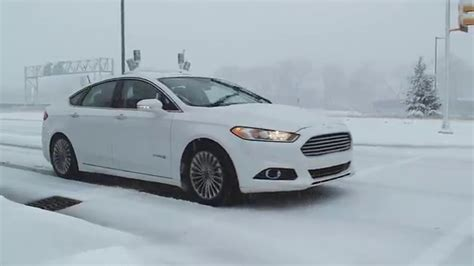 Ford's Industry First Autonomous Vehicle Tests In Snow