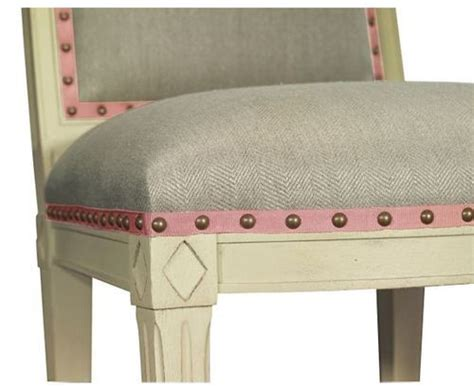 Furniture Upholstery Trim by Upholstery Chair Ribbon Trim And Nailhead Detail Susanne