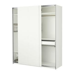 Garde Robe Pax by Garde Robe Pax Portes Coulissantes Blanche Ikea Kadolog
