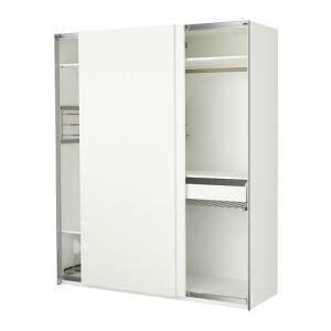 Garderobe Pax Portes Coulissantes Blanche (ikea) Kadolog