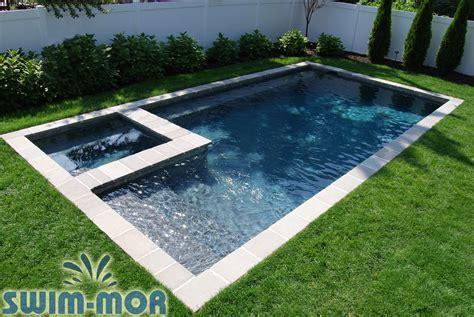 Backyard Pools By Design by Geometric Pool Designs Swim Mor Pools And Spas