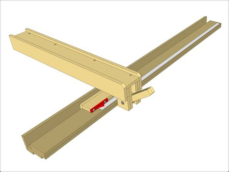 wooden table saw fence plans woodwork tools jigs