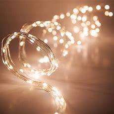 Novelty Lights  6' Ten Strand Light Spray With Warm White