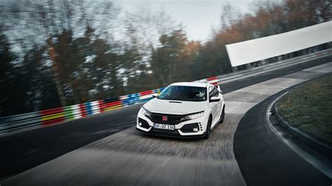 honda civic type  captures nurburgring lap record
