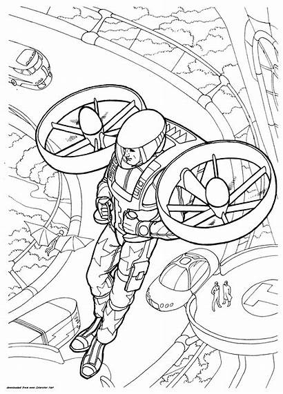 Future Vehicles Transport Coloring Pages Police Colorator