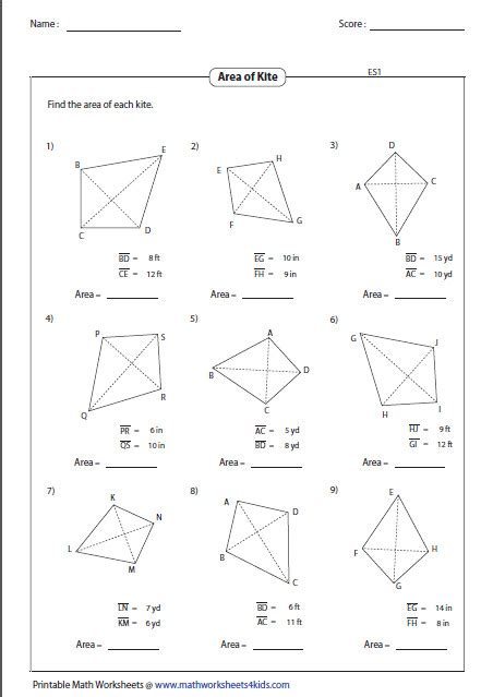 area of trapezoid worksheet homeschooldressage