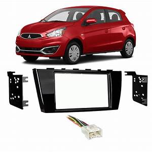 Mitsubishi Mirage  U0026 G4 2017 Double Din Stereo Harness