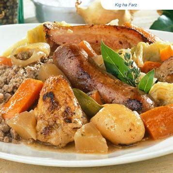 cuisine bretonne kig ha farz specialite et la terre enfanta