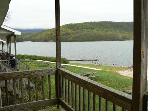 view  bungalow  porch picture  lake raystown resort  rvc outdoor destination