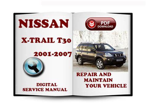 nissan  trail    service repair manual  downl