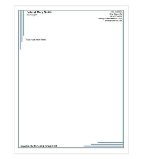 letterhead templates doliquid