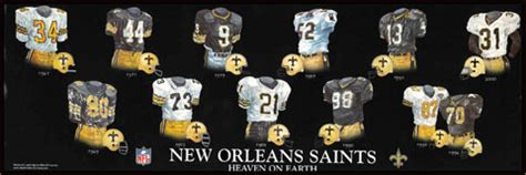 saints uniform history tigerdroppingscom