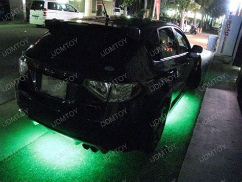 how to install led car lights led underbody kit by