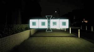 Night stroll geometric lightscapes animated on the for Night stroll geometric lightscapes animated on the streets of tokyo by tao tajima