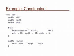 What Are The Uses Of Constructor In Java