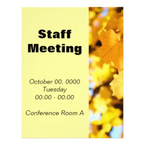 free announcement maker meeting flyers meeting flyer templates and printing