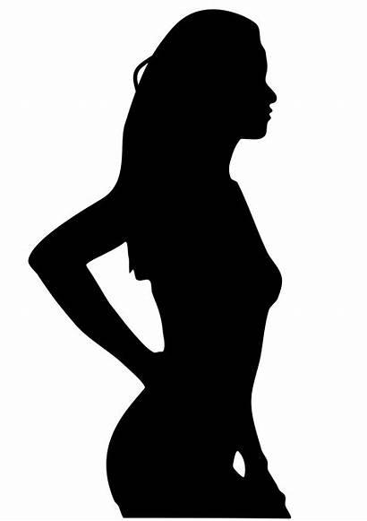 Silhouettes Silhouette Svg Woman Shadow Bikini Plazilla