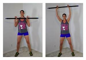 10 Weighted Body Bar Exercises You Can Do At Home