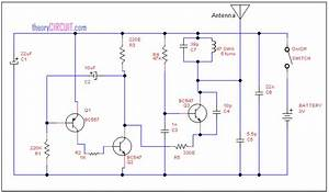 Tracking Transmitter Circuit Diagram