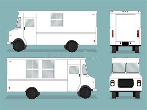 food truck template food truck template stock vector image of drawing coach 41440438