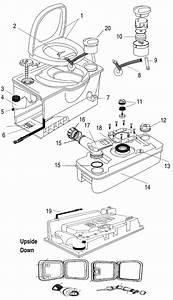 Porta Potti Cassette C4
