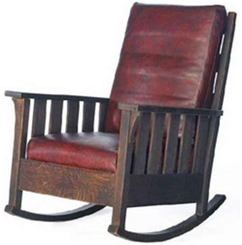 Stickley Rocking Chair Value by Furniture Chair Rocking Arts Crafts Stickley Gustav