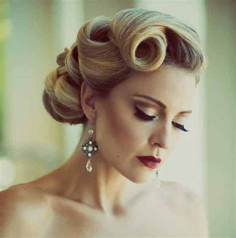easy  simple vintage hairstyles pictures sheideas